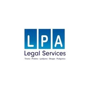 Legal and Professional Services Albania - LPA Law Firm Albania Logo